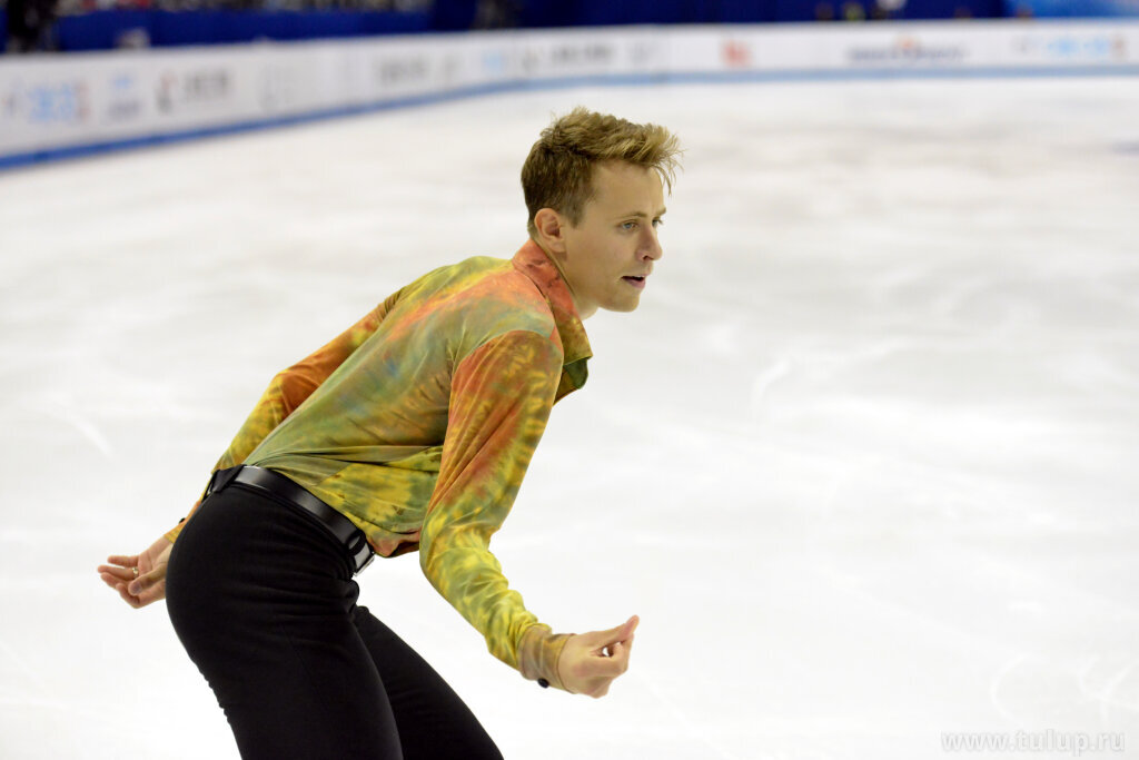 Michal Brezina. Free skating. Beatles. Shanghai Trophy 2019. China.